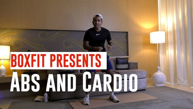 Tue 01/6 6pm  IST | Abs and Cardio wi...
