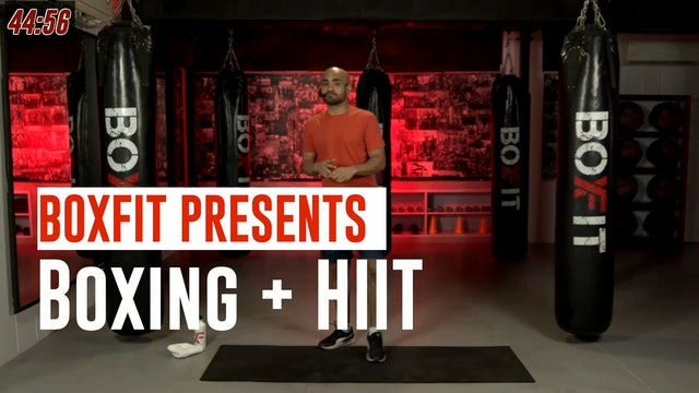 Fri 16/7 8am IST | Boxing + HIIT with Ajay |