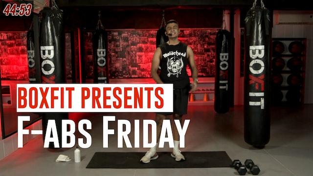 Fri 23/7 6pm  IST | F-abs Friday with Manik |