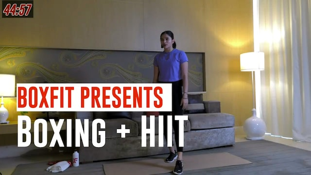 Wed 26/5 6pm  IST | Boxing + HIIT with Dikshika |