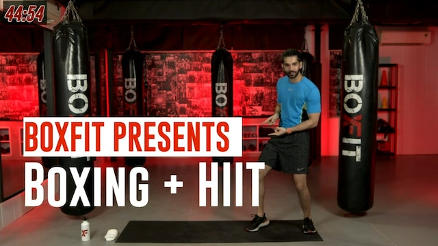 Thur 26/8 6pm  IST | Boxing + HIIT with Akhil |