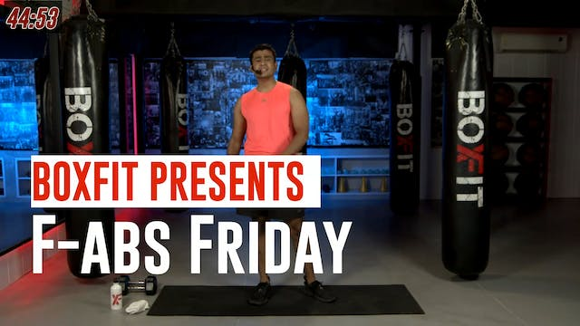 Fri 16/7 6pm  IST | F-abs Friday with...