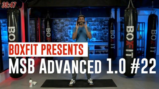 MSB Advanced 1.0 #22