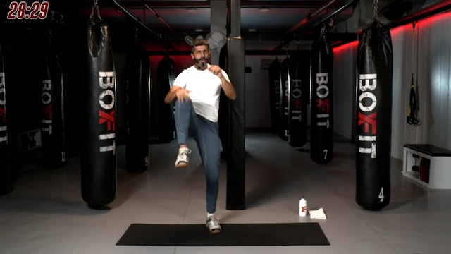Tue 08/09 7pm IST | Kickboxing and Cardio with Sameer |