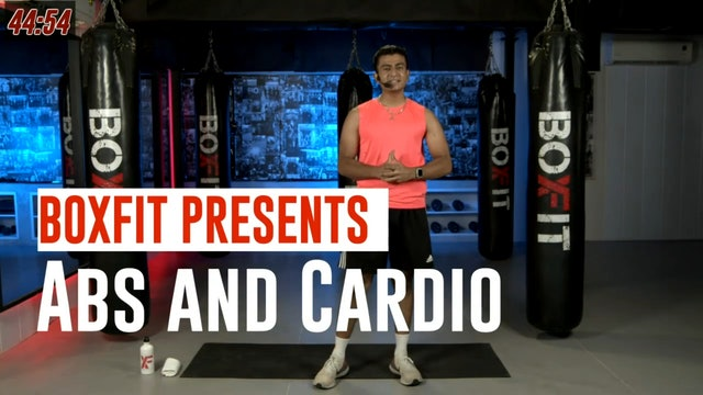 Fri 13/8 6pm  IST | Abs and Cardio with Manik |