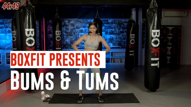 Mon 19/7 6pm  IST | Bums & Tums with Dikshika |