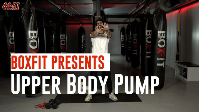 Thur 24/6 8am IST | Upper Body Pump w...