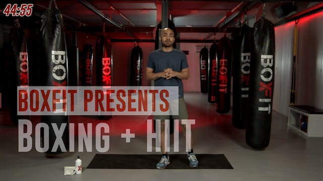 Mon 28/6 8am IST | Boxing + HIIT with...