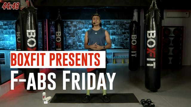 Fri 30/7 6pm  IST | F-abs Friday with...