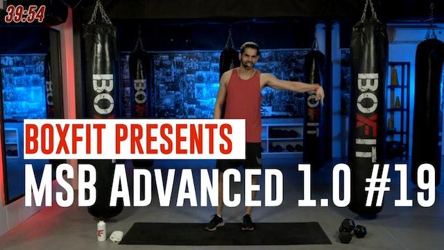 MSB Advanced 1.0 #19