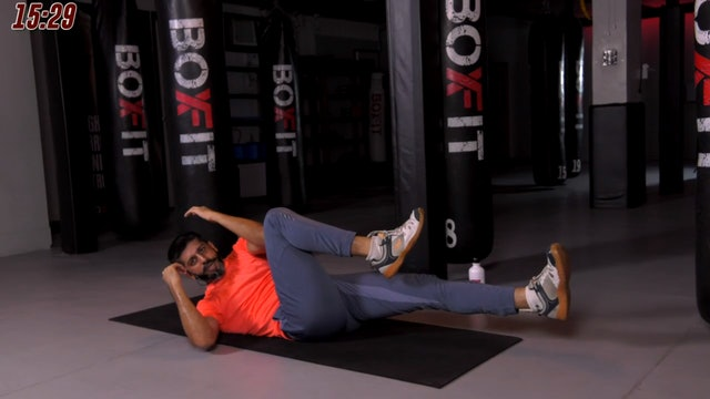 Sat 10/10 6pm  IST | Kickboxing and Cardio with Sameer |