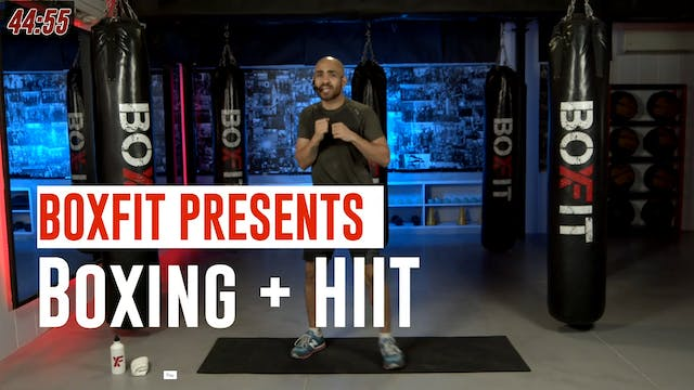Mon 26/7 8am IST | Boxing + HIIT with...