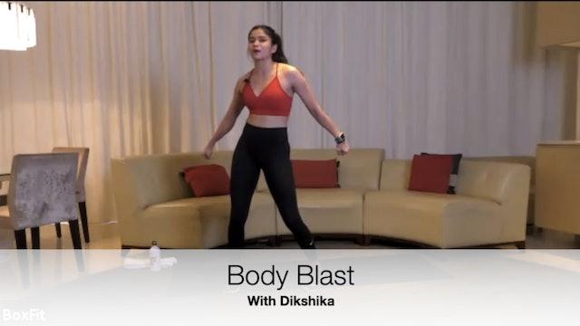 Wed 5/5 6pm IST | Body Blast with Dikshika