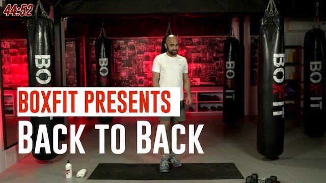 Fri 08/10 6pm  IST | Back to Back wit...