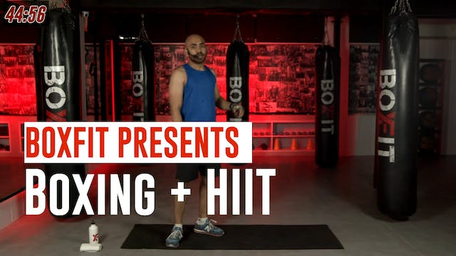 Mon 12/7 8am IST | Boxing + HIIT with...