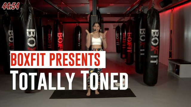 Wed 23/6 6pm  IST | Totally Toned wit...