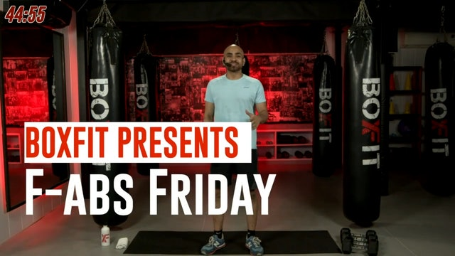 Fri 24/9 6pm  IST | F-abs Friday with Ajay |