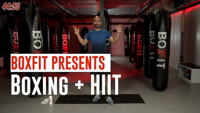 Fri 02/7 8am IST | Boxing + HIIT with...