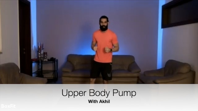 Tues 11/5 6pm IST | Upper Body Pump with Akhil