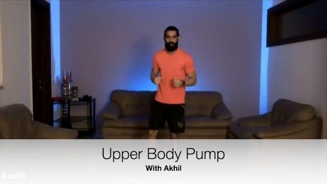 Tues 11/5 6pm IST | Upper Body Pump w...