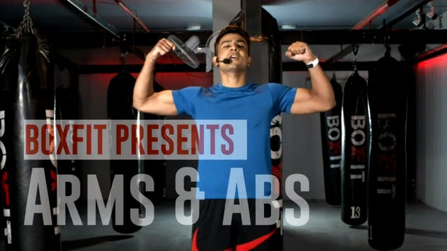 Tue 08/12 6pm  IST | Arms & Abs with ...