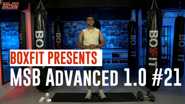 MSB Advanced 1.0 #21