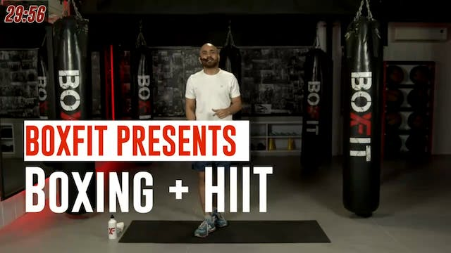 Wed 04/8 8pm  IST | Boxing + HIIT wit...