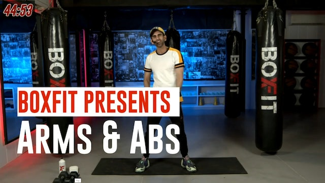 Wed 28/7 8am IST | Arms & Abs with Rajat |