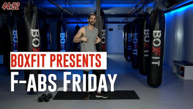 Fri 02/7 6pm  IST   F-abs Friday with Akhil  