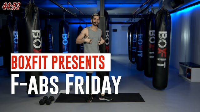 Fri 02/7 6pm  IST | F-abs Friday with...