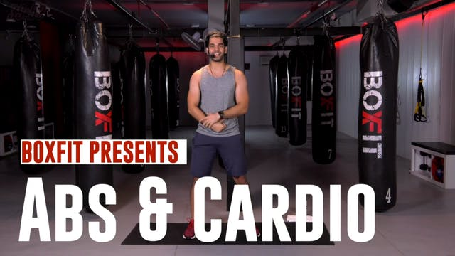 Mon 24/08 7pm IST | Abs & Cardio with...