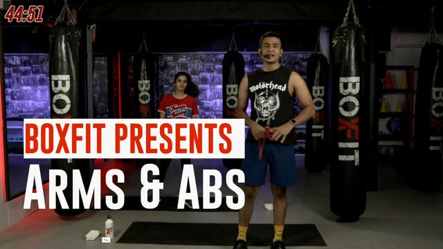 Wed 22/9 6pm  IST | Arms & Abs with M...