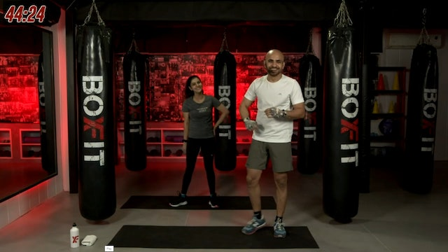 Tue 21/9 6pm  IST | Boxing + HIIT with Ajay |