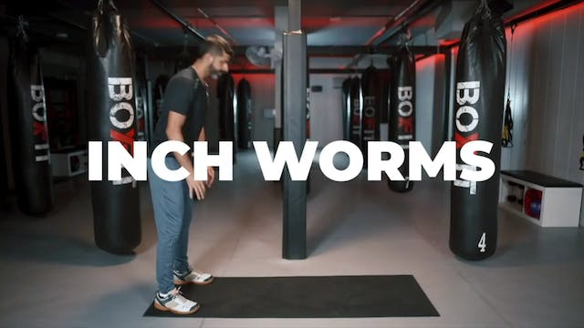 How to do an Inch Worm