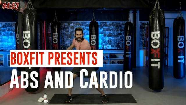 Wed 01/9 6pm  IST | Abs and Cardio wi...