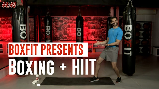 Wed 11/8 6pm  IST | Boxing + HIIT with Akhil |