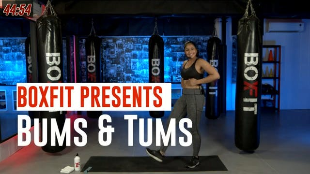 Wed 25/8 6pm  IST | Bums & Tums with ...