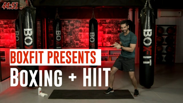 Wed 04/8 6pm  IST | Boxing + HIIT with Akhil |