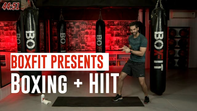 Wed 04/8 6pm  IST | Boxing + HIIT wit...