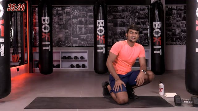Fri 26/3 6pm  IST   Arms & Abs with M...