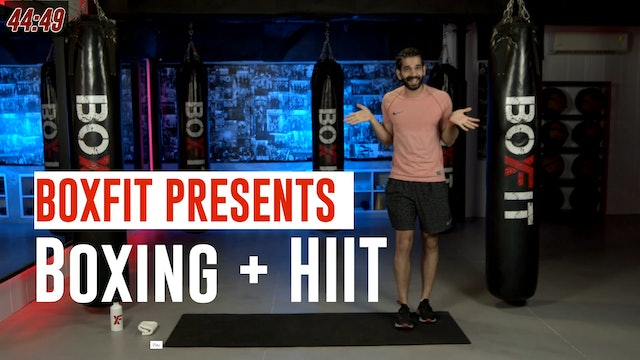 Thur 22/7 6pm  IST | Boxing + HIIT with Akhil |