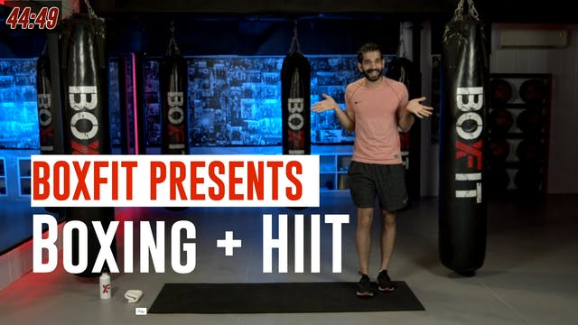 Thur 22/7 6pm  IST | Boxing + HIIT wi...