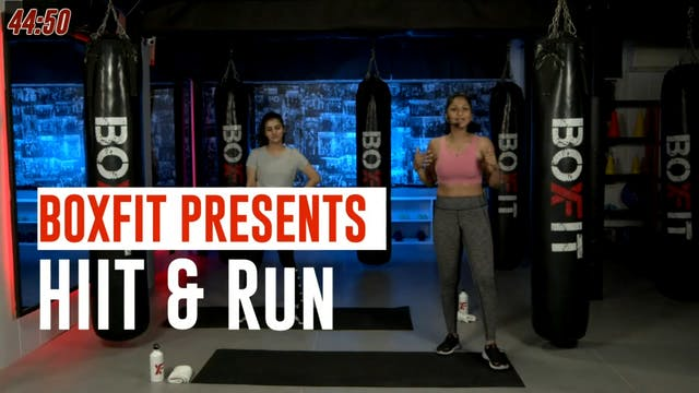 Thur 23/9 6pm  IST | HIIT & Run with ...