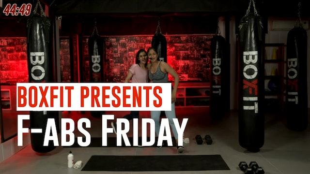 Fri 01/10 6pm  IST | F-abs Friday with Priyanka |