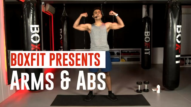 Thur 14/1 6pm  IST | Arms & Abs with Manik |