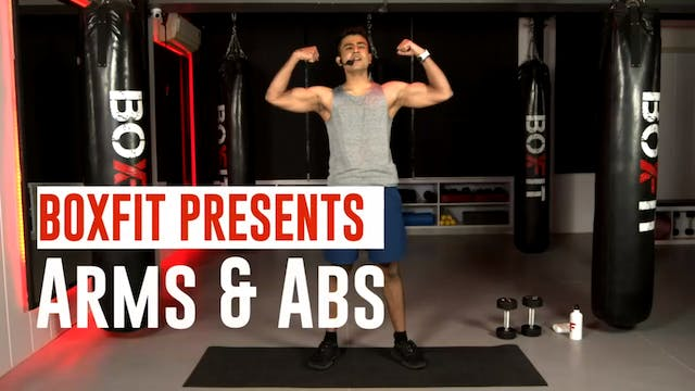 Thur 14/1 6pm  IST | Arms & Abs with ...