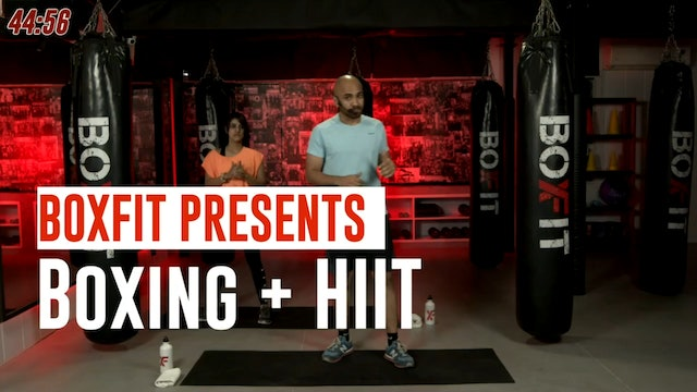 Tue 28/9 6pm  IST | Boxing + HIIT with Ajay |