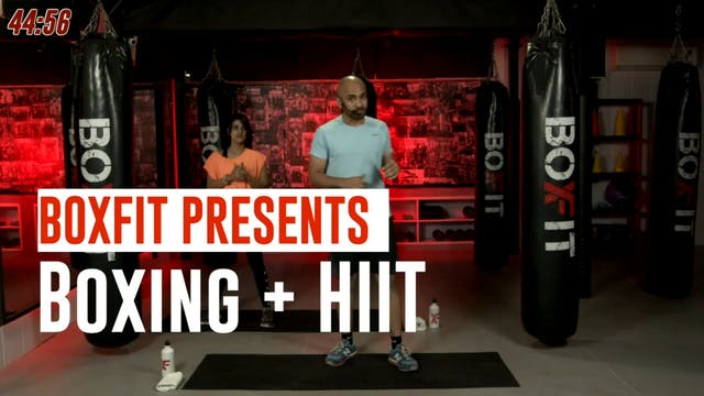 Tue 28/9 6pm  IST | Boxing + HIIT wit...