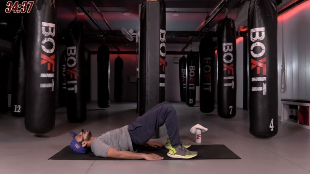 Tue 17/11 6pm  IST | Boxing + HIIT with Sid |