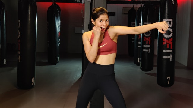 Wed 28/10 6pm  IST | Boxing + HIIT with Dikshika |